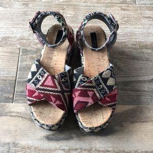 Topshop flatform sandals